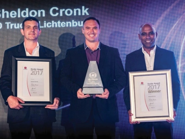 Sheldon Cronk: Winner – Foreman of the year 2017