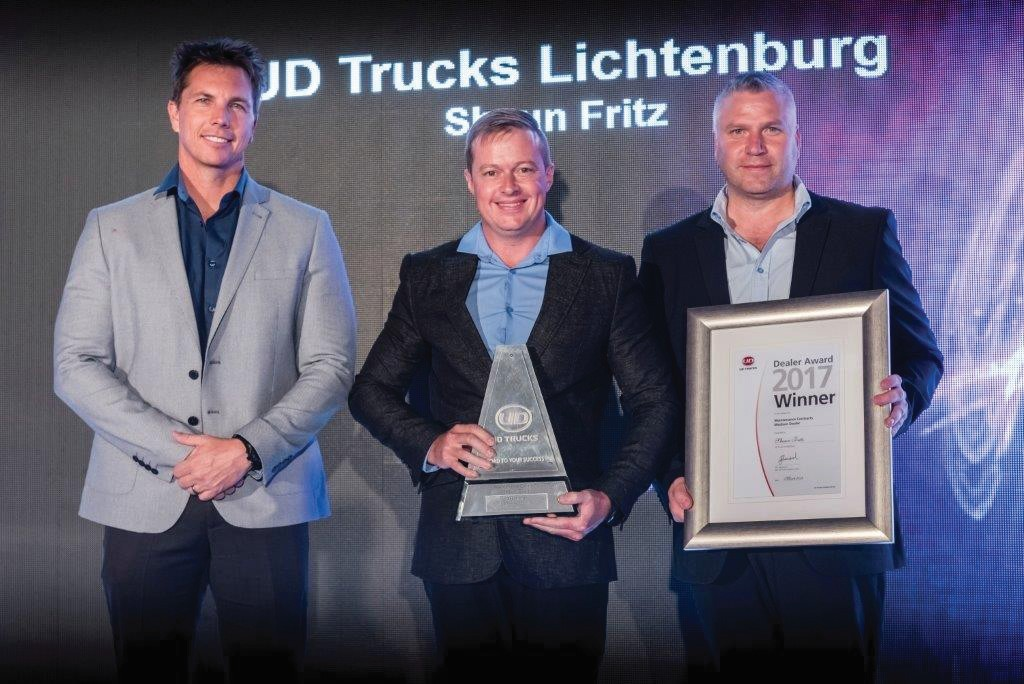 Shaun Fritz: Winner – Maintenance Contracts 2017