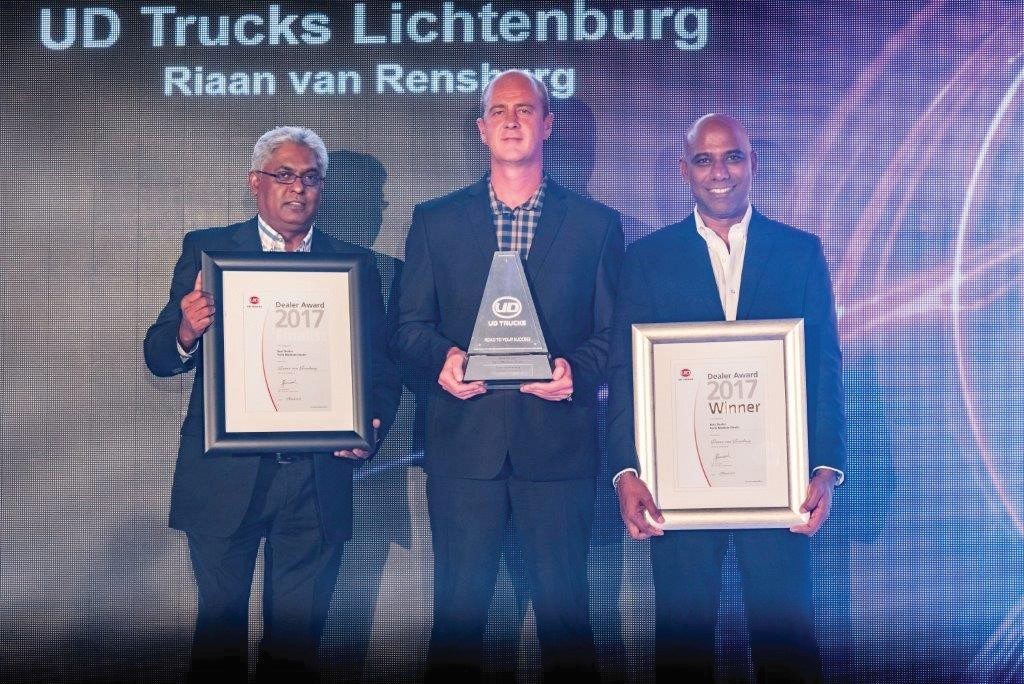 Riaan van Rensburg: Winner – Parts department of the year 2017 (Medium Dealer)