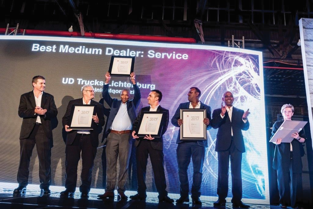 Dominic Mqongozi: Winner – Service department of the year 2017 (Medium Dealer)